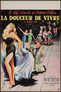 "Movie Posters:Foreign, La Dolce Vita (Consortium Pathe, 1960). French Petite (15.5"" X 23.5""). Foreign.. ..."