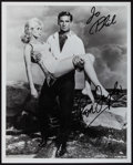"""Movie Posters:Science Fiction, Rod Taylor and Yvette Mimieux in The Time Machine (MGM, 1960). Autographed Restrike Promotional Photo (8"""" X 10""""). Science Fi..."""