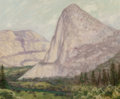 Fine Art - Painting, American:Antique  (Pre 1900), Charles Dorman Robinson (American, 1847-1933). Kolana Peak(Hetch Hetchy Valley), 1885. Oil on canvas laid on board.13-...