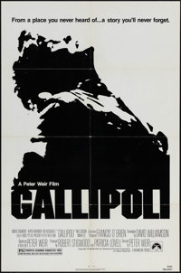 "Gallipoli & Others Lot (Paramount, 1981). One Sheets (3) (27"" X 41""). War. ... (Total: 3 Items)"