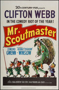 "Movie Posters:Comedy, Mr. Scoutmaster (20th Century Fox, 1953). One Sheet (27"" X 41"").Comedy.. ..."
