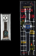 "Movie Posters:James Bond, James Bond Watch & Other Lot (Eon & Generation, 1990s).Collectible Watch (2"" X 5.5"") & Watch Lighter (3.25"" X 12"").James B... (Total: 2 Items)"