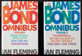 "Movie Posters:James Bond, James Bond by Ian Fleming Omnibus Lot (MJF, 1997). First PrintingHardcover Books (Multiple Pages, 5.5"" X 8.5""). James Bond....(Total: 2 Items)"