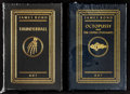 """Movie Posters:James Bond, Thunderball & Octopussy by Ian Fleming (Easton Press, 2005). Hardcover Books (2) (Multiple Pages, 5.25"""" X 7.5""""). James Bond.... (Total: 2 Items)"""
