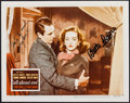 """Movie Posters:Academy Award Winners, Bette Davis and Gary Merrill in All About Eve (1980s). Autographed Color Photo (8"""" X 10""""). Academy Award Winners.. ..."""