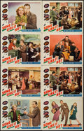 "Movie Posters:Comedy, Some Like It Hot (Paramount, 1939). Lobby Cards (8) (11"" X 14"").Comedy.. ... (Total: 8 Items)"