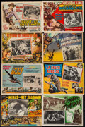 "Movie Posters:Adventure, King Solomon's Mines & Others Lot (MGM, 1950). Mexican LobbyCards (62) (approx. 12.5"" X 16.5""). Adventure.. ... (Total: 62Items)"