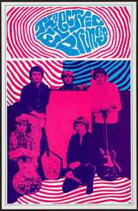 """The Electric Prunes (Saladin Productions, 1967). Headshop Window Card (13"""" X 20""""). Rock and Roll"""