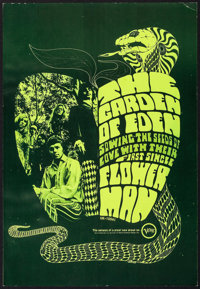 "Flower Man by The Garden of Eden (Verve Records, 1967). Album Single Poster (13"" X 19"") 1st Printing. Rock and..."