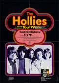 """Movie Posters:Rock and Roll, The Hollies at the Circus Krone Building (Jahnke-Tournee, 1979).German Concert Poster (23.25"""" X 33""""). Rock and Roll.. ..."""