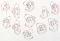 Animation Art:Concept Art, The Ballad of Nessie McFroogle Character Development Drawing(Walt Disney, 2011)....