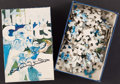 Football Collectibles:Others, 1971 Johnny Unitas Signed Puzzle....