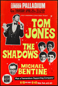Movie Posters:Rock and Roll, Tom Jones, The Shadows, and Michael Bentine at the London Palladium& Other Lot (Leslie A. Macdonnell & Leslie Grade, 1967)....(Total: 2 Items)