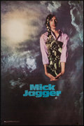 "Movie Posters:Rock and Roll, Mick Jagger (The Visual Thing, 1969). Personality Poster (23.75"" X35.75""). Rock and Roll.. ..."