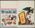 """Movie Posters:Fantasy, The 3 Worlds of Gulliver & Other Lot (Columbia, 1960). WindowCards (2) (14"""" X 22""""), Belgian (14.25"""" X 21"""") & FrenchAffiche... (Total: 4 Items)"""