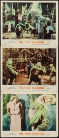 "Movie Posters:Science Fiction, The Time Machine (MGM, 1960). Lobby Cards (3) (11"" X 14""). ScienceFiction.. ... (Total: 3 Items)"