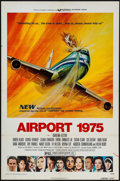 "Movie Posters:Action, Airport 1975 & Other Lot (Universal, 1974). One Sheets (2) (27""X 41""). Action.. ... (Total: 2 Items)"