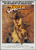 "Movie Posters:Adventure, Raiders of the Lost Ark (Paramount, 1981). German A1 (23.25"" X33""). Adventure.. ..."