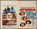 """Movie Posters:Adventure, Helen of Troy & Others Lot (Warner Brothers, 1956). WindowCards (2) (14"""" X 22"""") & One Sheets (3) (27"""" X 41""""). Adventure..... (Total: 5 Items)"""