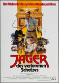 """Movie Posters:Adventure, Raiders of the Lost Ark (Paramount, R-1982). German A1 (23.25"""" X33""""). Adventure.. ..."""