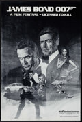 "Movie Posters:James Bond, James Bond Film Festival (MGM/UA, 1983). Poster (18"" X 27"") ArtStyle. James Bond.. ..."
