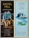 "Movie Posters:Horror, Motel Hell & Others Lot (United Artists, 1980). Inserts (4)(14"" X 36"") & Half Sheet (22"" X 28""). Horror.. ... (Total: 5Items)"