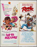 """Movie Posters:Foreign, Up to His Ears & Others Lot (Lopert, 1966). Inserts (3) (14"""" X 36""""), Window Card (14"""" X 22"""") & Half Sheet (22"""" X 28""""). Forei... (Total: 5 Items)"""
