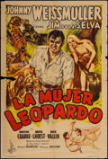 """Movie Posters:Adventure, Captive Girl (Columbia, 1950). Argentinean Poster (29"""" X 43"""").Adventure.. ..."""