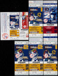 Baseball Collectibles:Tickets, 2005-06 New York Yankees World Series and Championship SeriesPhantom Full Tickets Lot of 21....