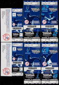 Baseball Collectibles:Tickets, 2004 New York Yankees World Series and Championship Series PhantomFull Tickets Lot of 10....