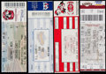 Baseball Collectibles:Tickets, 2000-03 Major League Baseball Full Tickets Lot of 4 with Bonds& Sosa Home Runs. ...