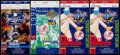 Baseball Collectibles:Tickets, 1996-2000 World Series Ticket Stubs Lot of 4....