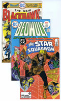 Bronze Age (1970-1979):Miscellaneous, DC Bronze Group (DC, 1974-87) Condition: Average NM-. This groupcontains various DC titles including All-Star Squadron ...