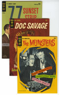 """Silver Age (1956-1969):Miscellaneous, Gold Key Silver Age Group (Gold Key, 1962-66) Condition: Average VF+. Includes Doc Savage #1 (adapts """"The Thousand-Heade... (Total: 7 Comic Books)"""