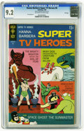Silver Age (1956-1969):Superhero, Hanna-Barbera Super TV Heroes #6 File Copy (Gold Key, 1969) CGC NM-9.2 Off-white to white pages. Space Ghost appearance. Da...