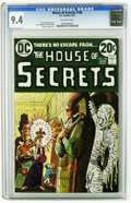 Bronze Age (1970-1979):Horror, House of Secrets #108 (DC, 1973) CGC NM 9.4 Off-white pages. SergioAragones art. Overstreet 2005 NM- 9.2 value = $20. CGC c...