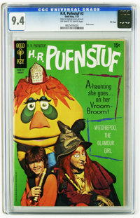 H.R. Pufnstuf #2 File Copy (Gold Key, 1971) CGC NM 9.4 Off-white to white pages. Photo cover. This is currently the high...