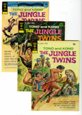 Bronze Age (1970-1979):Miscellaneous, The Jungle Twins #1-4 Box Lot (Gold Key/Whitman, 1972) Condition:Average VF/NM. This short box contains issues #1 (21 copie...