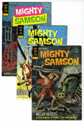 Silver Age (1956-1969):Science Fiction, Mighty Samson Box Lot (Gold Key, 1972-75) Condition: Average VF/NM.This box lot contains issues #21 (10 copies), 22 (20 cop...