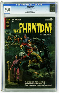 Phantom #3 File Copy (Gold Key, 1963) CGC VF/NM 9.0 Off-white pages. Painted cover by George Wilson. Jack Sparling and B...