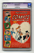 Platinum Age (1897-1937):Miscellaneous, Popular Comics #2 (Dell, 1936) CGC Apparent VG 4.0 Slight (A) Cream to off-white pages. Dick Tracy's second comic book appea...