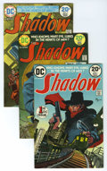 Bronze Age (1970-1979):Miscellaneous, The Shadow Group (DC, 1973-75) Condition: Average VF. Included are#1 (three copies), 2 (eight copies), 3 (seven copies), 4 ...(Total: 29)