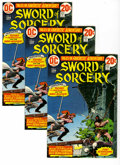 Bronze Age (1970-1979):Miscellaneous, Sword of Sorcery #1 Multiple Copies Group (DC, 1973). Includes 19copies of #1, featuring Fritz Lieber's characters Fafhrd a...(Total: 19)