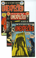 Bronze Age (1970-1979):Horror, Unexpected Group (DC, 1971-75). Included are #125 (VF/NM), 143(VF/NM), 156 (VF/NM), 157 (VF), 161 (VF), 162 (VF), and 165 (...(Total: 7 Comic Books)