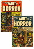 Golden Age (1938-1955):Horror, Vault of Horror #30-31 Group (EC, 1953) Condition: Average GD. Setof two great issues includes #30 (tape on cover) and 31 (...(Total: 2 Comic Books)