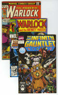 Bronze Age (1970-1979):Superhero, Warlock Group (Marvel, 1973-93). Follow Warlock through the Bronze Age and his adventures in the Infinity series. The Bronze... (Total: 22 Comic Books)
