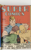 Golden Age (1938-1955):Miscellaneous, Super Comics #13-24 Bound Volume (Dell, 1939-40). Publisher's bound volume #2, consisting of the second year of Super Comi...