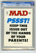 "Magazines:Mad, Mad #195 Gaines File pedigree (EC, 1977) CGC NM+ 9.6 Off-white to white pages. ""Airport 1977,"" ""Black Sunday,"" and ""Barney M..."