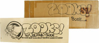 Vaughn Bode - Zooks! #nn (TK II, 1973) Condition: VF