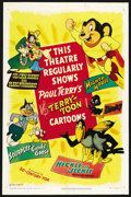 "Movie Posters:Animated, Terry-Toons Stock (20th Century Fox, 1950). One Sheet (27"" X 41"").Animated. ..."
